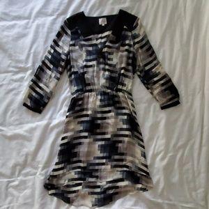 Parker Quinn Printed Dress XS